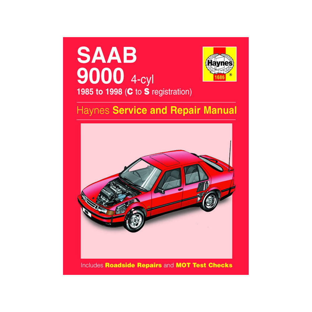 Saab 9000 Haynes Manual 1985-95 2.0 2.3 Petrol Workshop 38345016868 | eBay