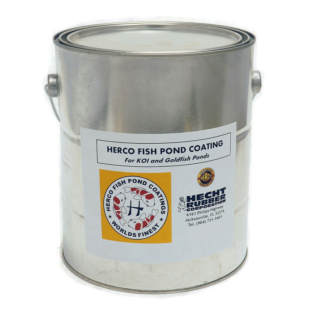 herco neoprene rubber koi fish pond coating sealer 5