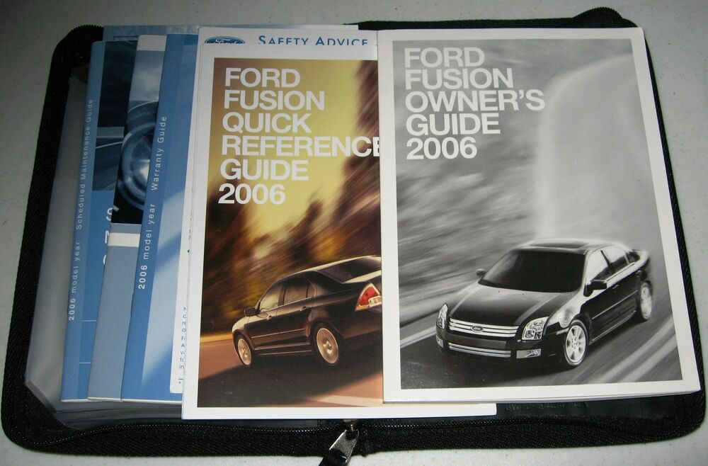 Ford Fusion 2006 Manual Guide