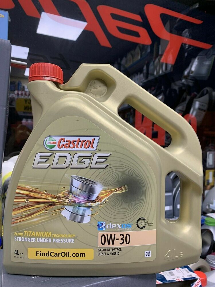 castrol edge fully synthetic 0w30 engine oil bmw 04 longlife c3 4 litre ebay. Black Bedroom Furniture Sets. Home Design Ideas