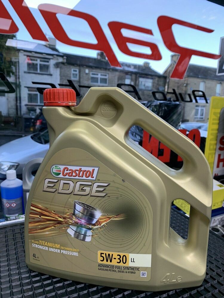 castrol edge 5w 30 long life fully synthetic audi a4 a3 a6 2 0 tdi 1 9 tdi ebay. Black Bedroom Furniture Sets. Home Design Ideas