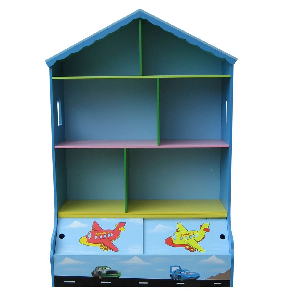 House Bookshelf: BOYS PLAY HOUSE BOOKCASE & STORAGE KIDS BOOKCASE BOYS