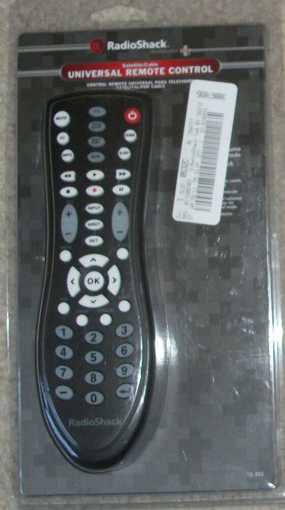 Nib Genuine Radio Shack Satellite Cable Universal Remote