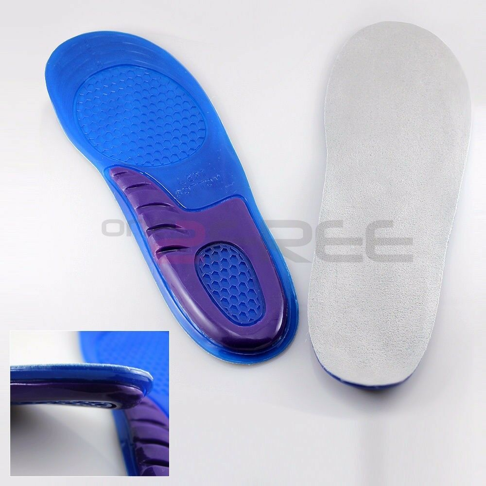 1Pair Orthotic Arch Support Shoe Sport Gel Insoles insert