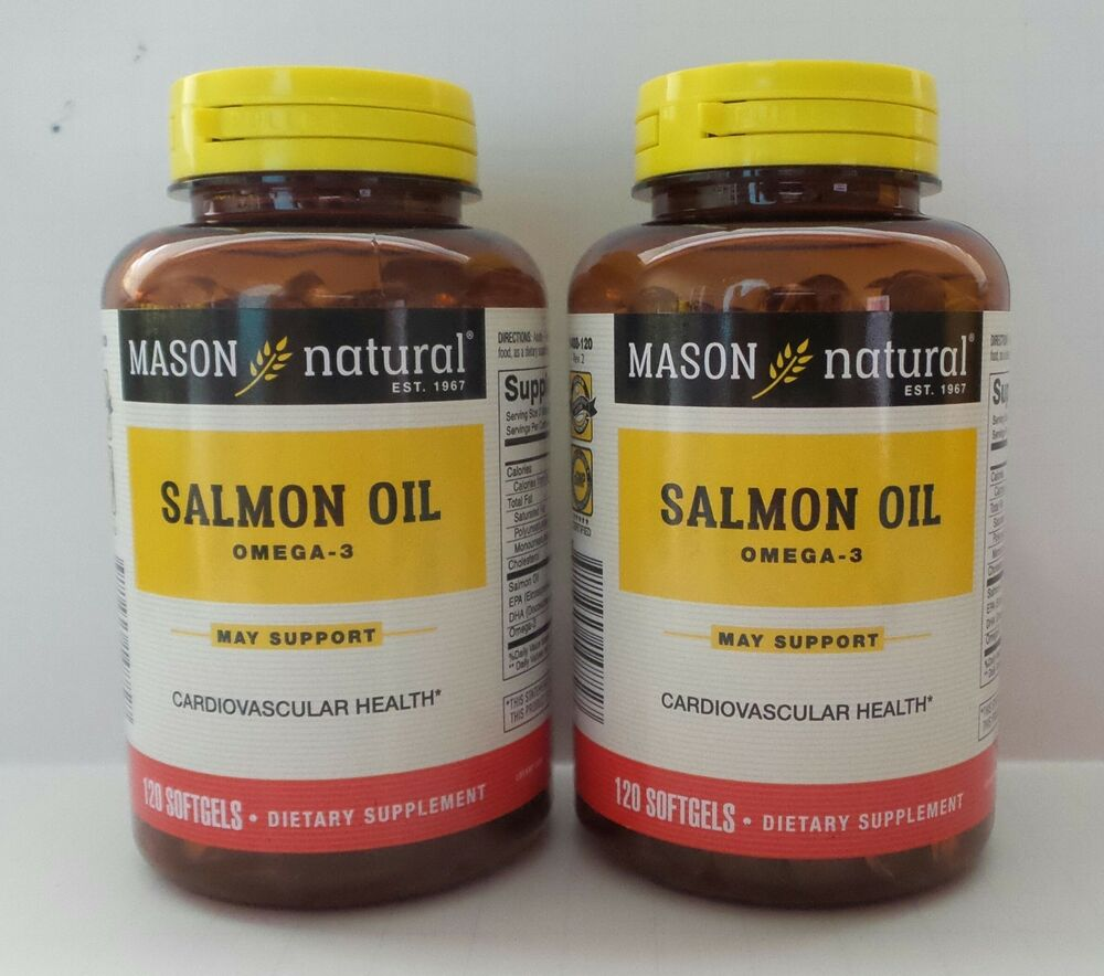 120 x 2 240 softgels salmon oil 1000 mg omega 3 lower for Is fish oil good for cholesterol