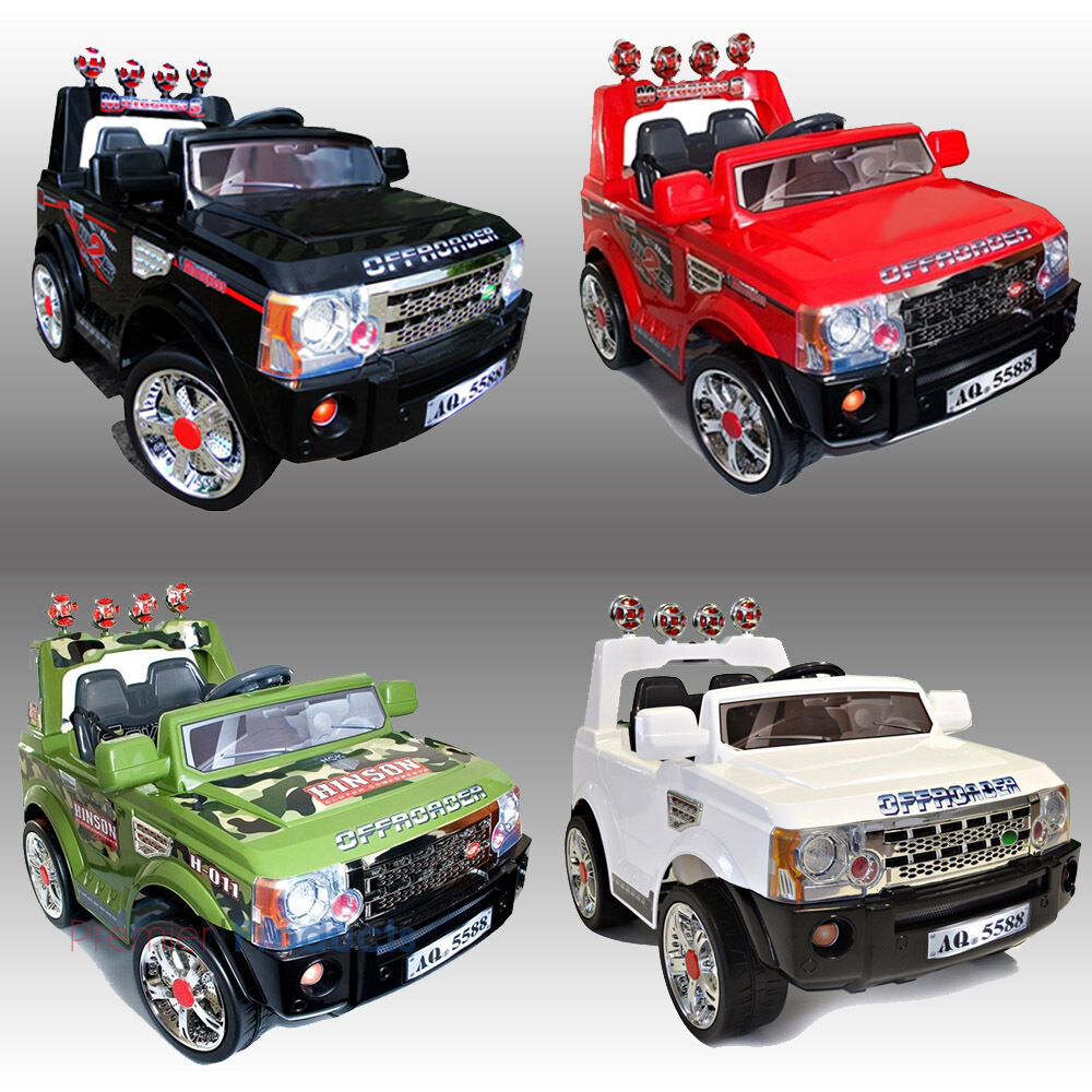 kids ride on jeep electric childrens 12v battery remote control toy car cars ebay