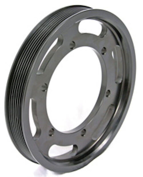 Aluminum Supercharger Pulley: 03-04 FORD COBRA 99-04 LIGHTNING 6# LOWER SUPERCHARGED