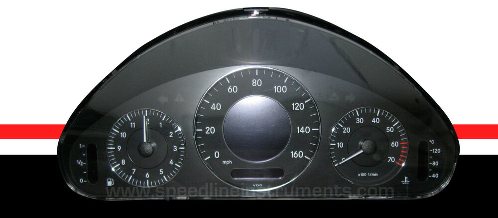 Mercedes benz e class w211 clk w209 cls w219 instrument for Mercedes benz cluster repair