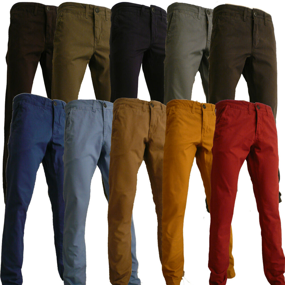 Mustard Shoes Men Pants