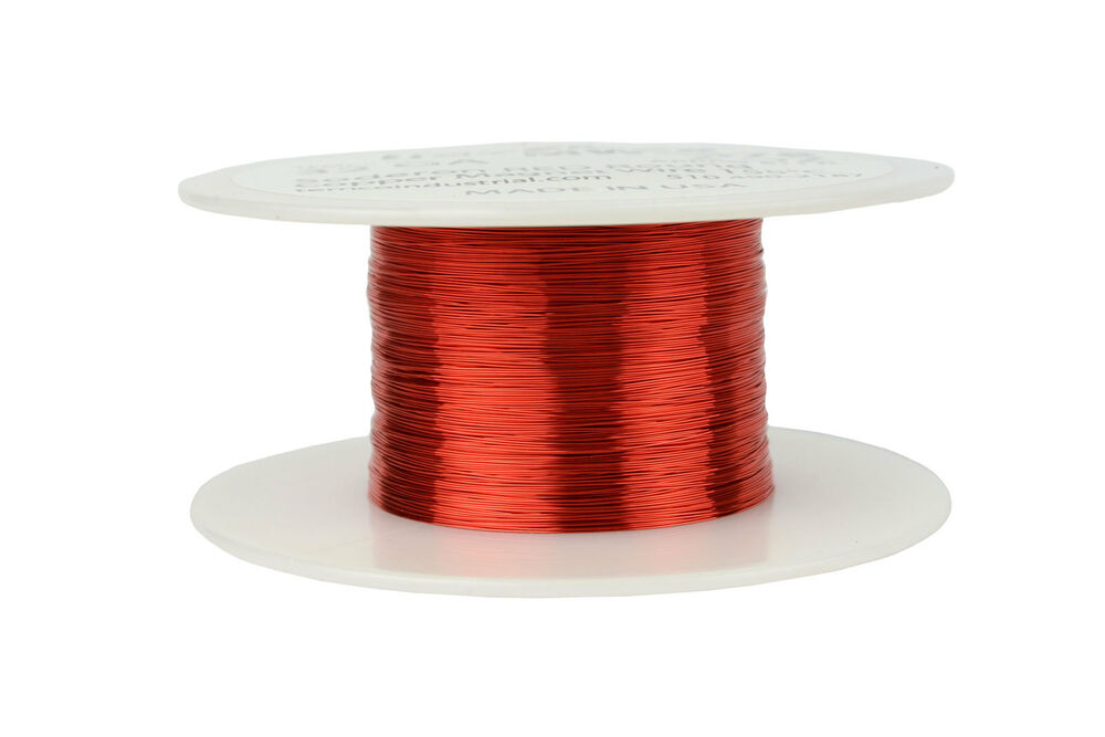 Temco magnet wire 32 awg gauge enameled copper 2oz 155c 611ft coil temco magnet wire 32 awg gauge enameled copper 2oz 155c 611ft coil winding ebay greentooth Choice Image