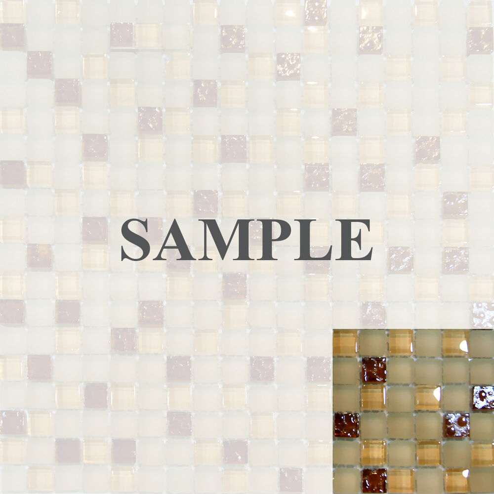 Kitchen Tile Texture White: Sample-Beige White Brown Smooth Texture And Matte Glass