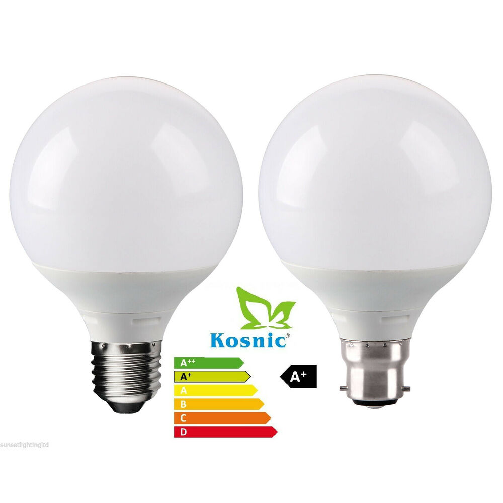 Reon 11w Led Low Energy Decor Globe Light Bulb Energy Saving B22 E27 Warm White Ebay
