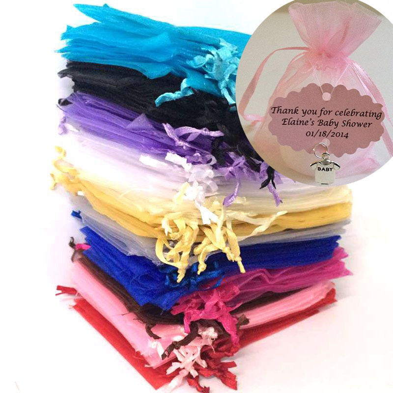 Sheer Wedding Favor Bags Bulk : ... Organza Sheer Gift Candy Bags Jewelry Pouches Wedding Party Favor