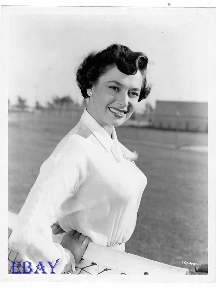 Ruth Roman Of Many Movies She Was In Strangers On A: Ruth Roman Busty VINTAGE Photo Tomorrow Is Another Day