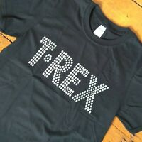 """""""T-Rex"""" Band T-Shirt - Marc Bolan, Glam Rock, 1970's All Sizes & Various Colours"""