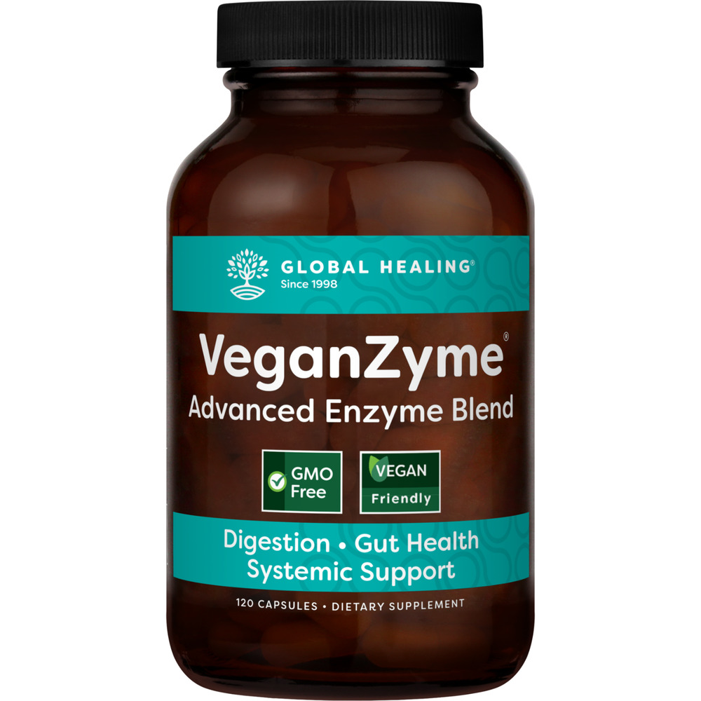 VeganZyme Natural Systemic & Digestive Enzymes Supplement ...