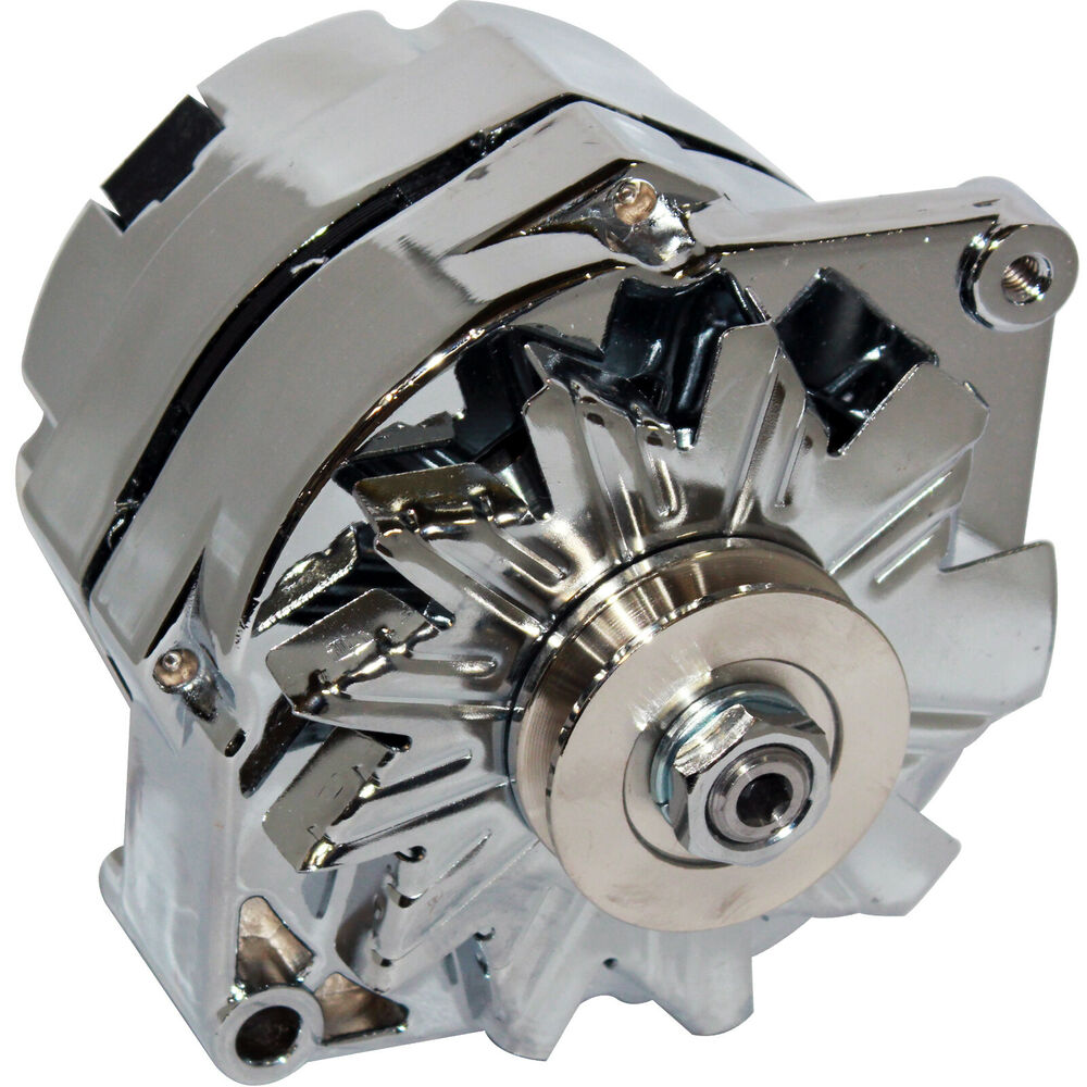 Gm 140 Amp Alternator Wiring Diagram Diagrams Chevy Cs130 Fits Ford Falcon Mustang Hotrod Chrome 1 Wire One Conversion