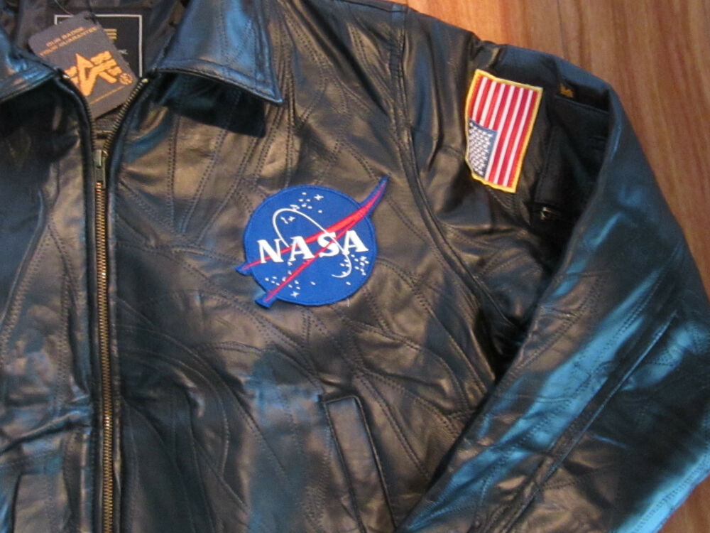 NASA Leather Bomber Jacket - Pics about space