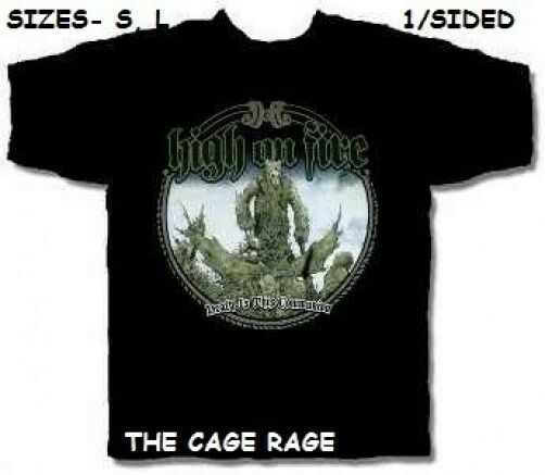 High on fire t shirt death is the communion metal for On fire brand t shirts