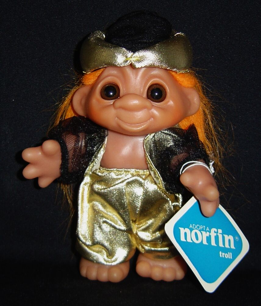 """PRINCE ALI DAM TROLL DOLL 6"""" Rare NEW IN BAG Hard To Find"""