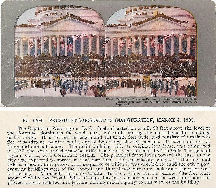 theodore roosevelt s inaugural address summary In this lesson, we will learn about president franklin d roosevelt's first inaugural address we will examine the context in which this speech was delivered and the contents of the speech itself .
