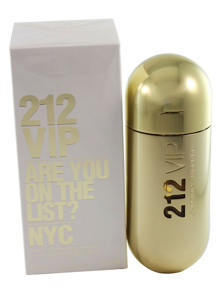 212 vip are you on the list nyc 2 7 oz edp spray for women new in a