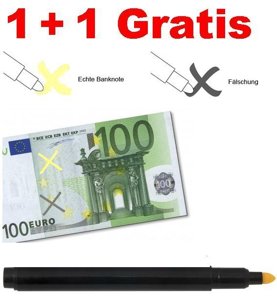 pr fstift falschgeldpr fer geld tester geldpr fger t. Black Bedroom Furniture Sets. Home Design Ideas