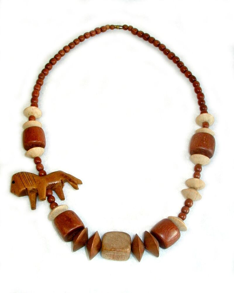 African Wooden Animal Fetish Hand Carved Bead Necklace. Anna Beck Necklace. Turquoise Diamond. Msu Rings. White Gold Bracelet. Tri Colored Gold Bands. Twisted Gold Bangle Bracelet. Bangle Type Bracelet. Fossil Grant Watches