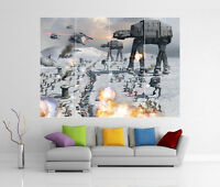 STAR WARS EMPIRE BATTLE GIANT WALL ART PICTURE PRINT POSTER G41