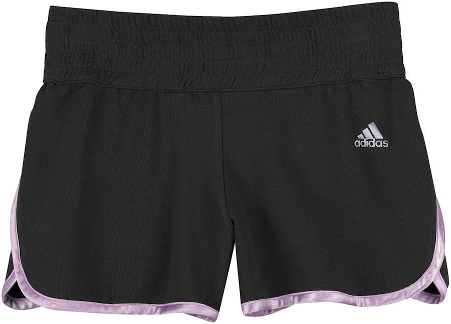 adidas m dchen hose sportshorts shorts kurze hosen sporthose gr 140 152 neu ebay. Black Bedroom Furniture Sets. Home Design Ideas