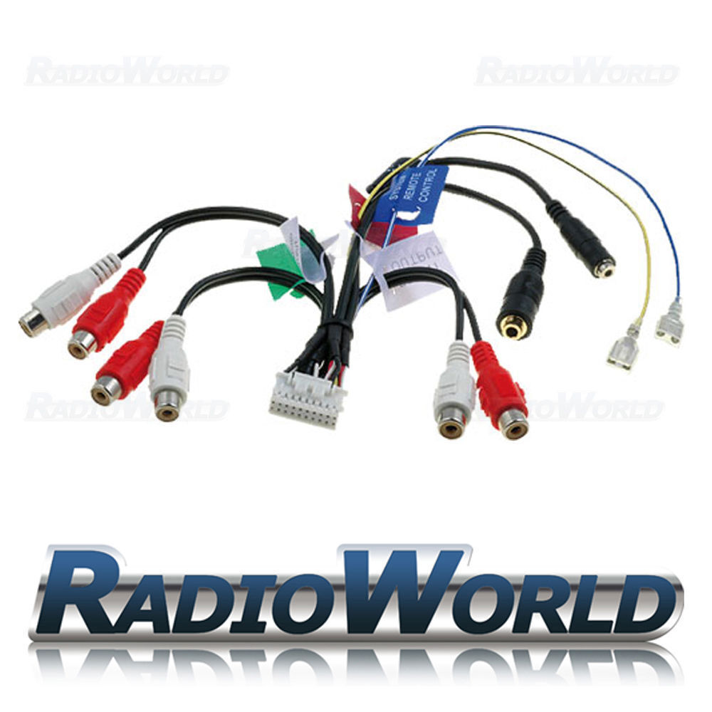 Pre Mould Cable Wire Harness : Pioneer rca pre out phono cable lead wiring harness