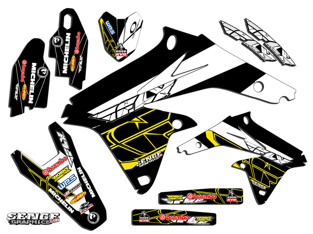 jr80 graphics kit jr 80 suzuki decals deco stickers all years pit bike moto ebay