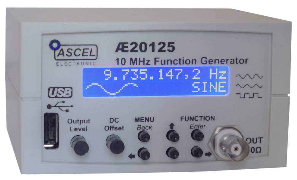 Rf Signal Generator Kit : Ae mhz sweep dds function generator kit with usb