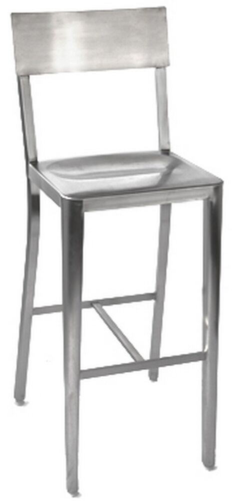 Good Restaurant Bar Stool Stainless Steel WHOLESALE Classic Style NEW Cafe  Seating | EBay
