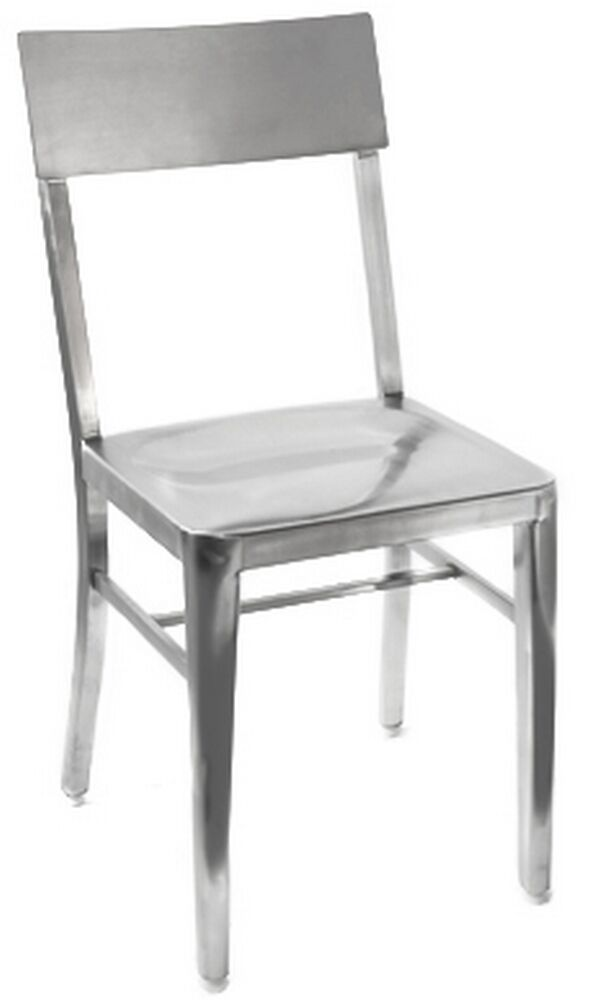 Stainless steel restaurant chair wholesale patio new cafe