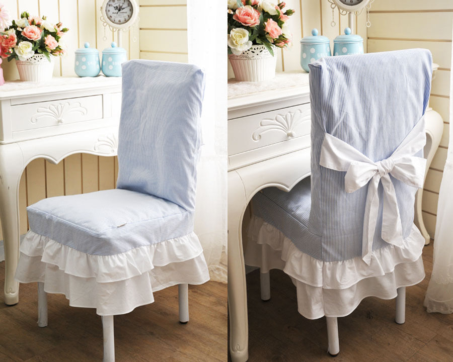 Blue Lovely Slipcovers For Chairs Dining Room Chair Slip