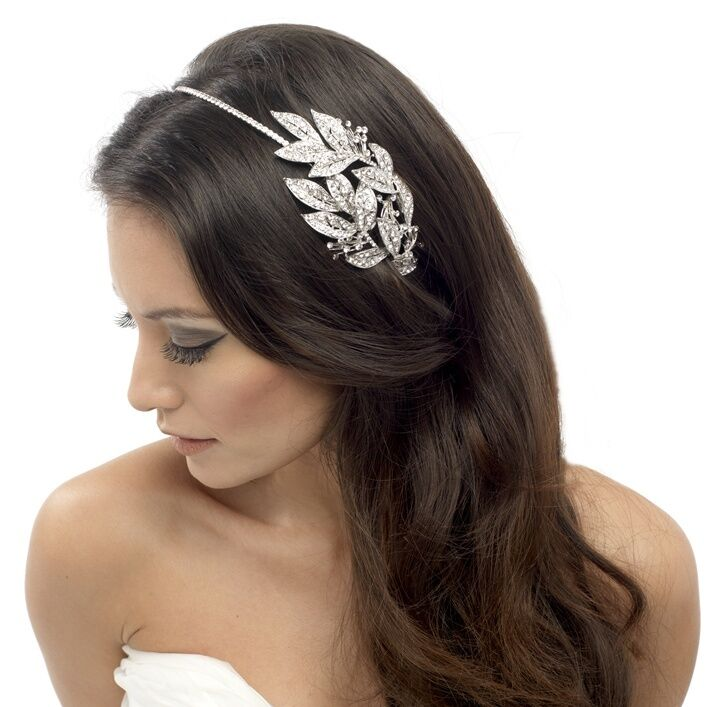 hair band styles for hair vintage style wedding headband grecian diamante hair band 1825