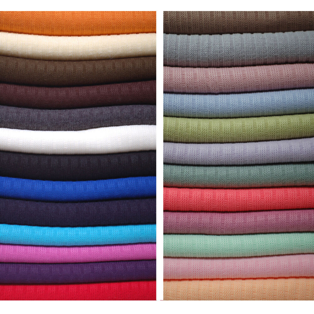 Neotrim knitted rib knit jersey fabric material for Dressmaking fabric
