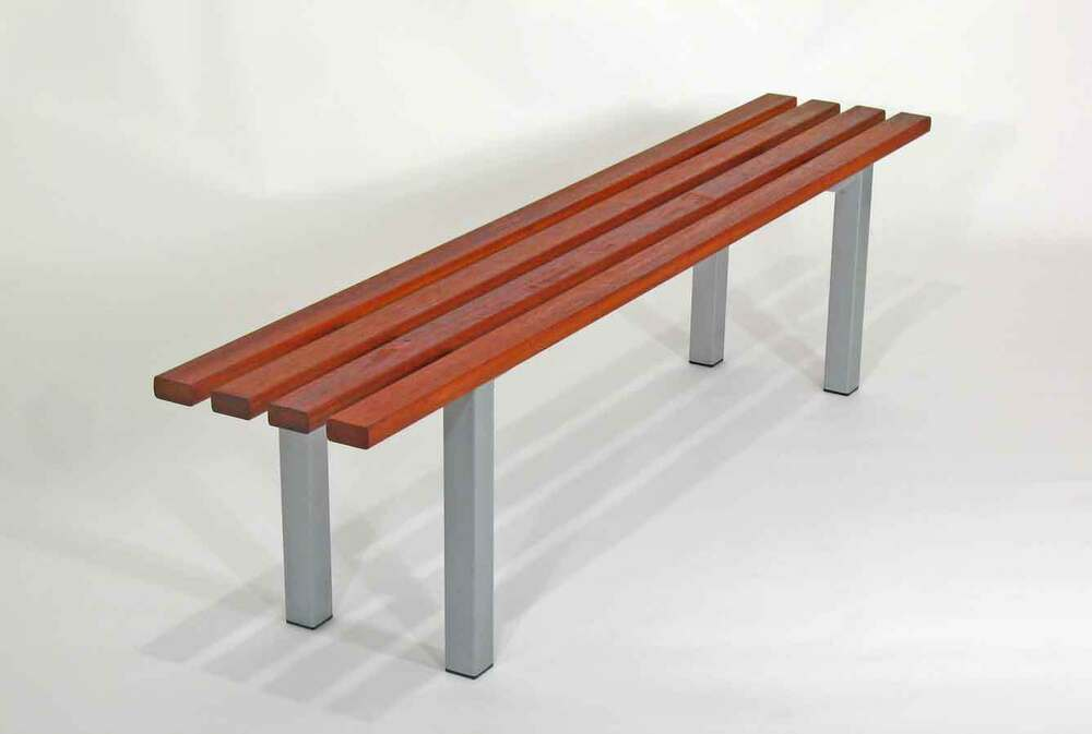 Timber Office Furniture ~ Bench timber office furniture outdoor garden chair seat
