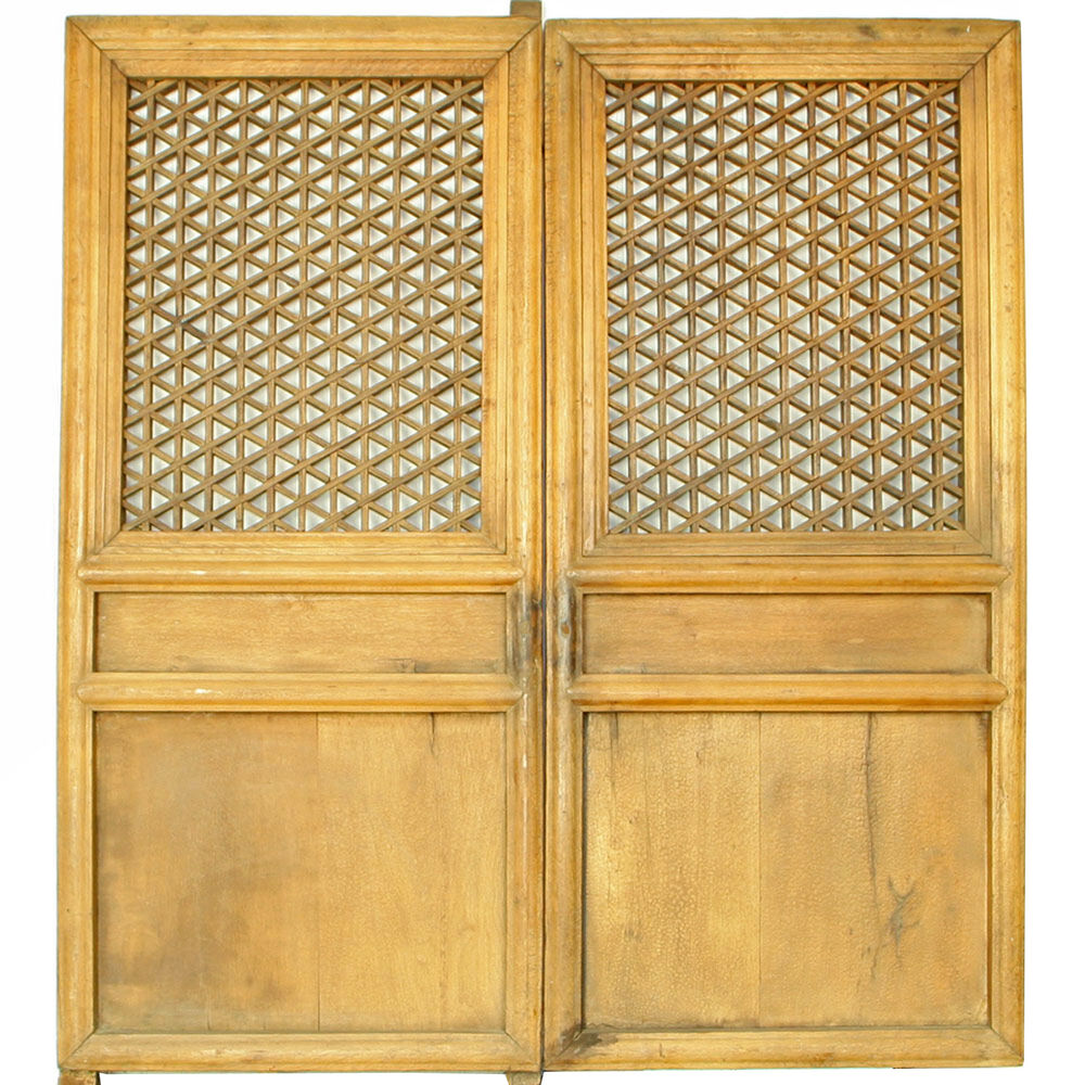 Asian Wood Screen 90