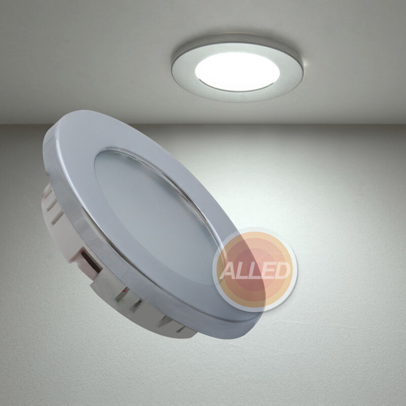 12v recessed led cabin down light ceiling roof caravan marine truck