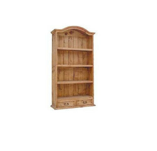Large Wooden Bookcases ~ Large bookcase with two drawers real wood free shipping ebay