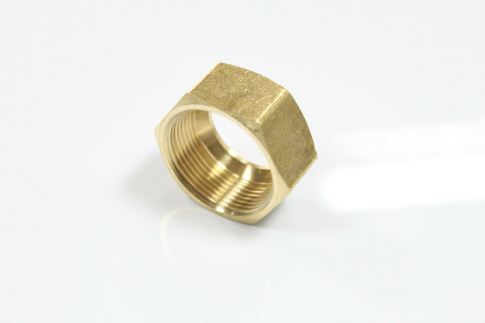 New quot brass compression nut