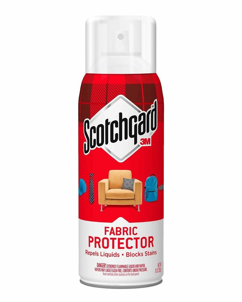 scotchgard fabric upholstery protector 10 oz spray ebay. Black Bedroom Furniture Sets. Home Design Ideas