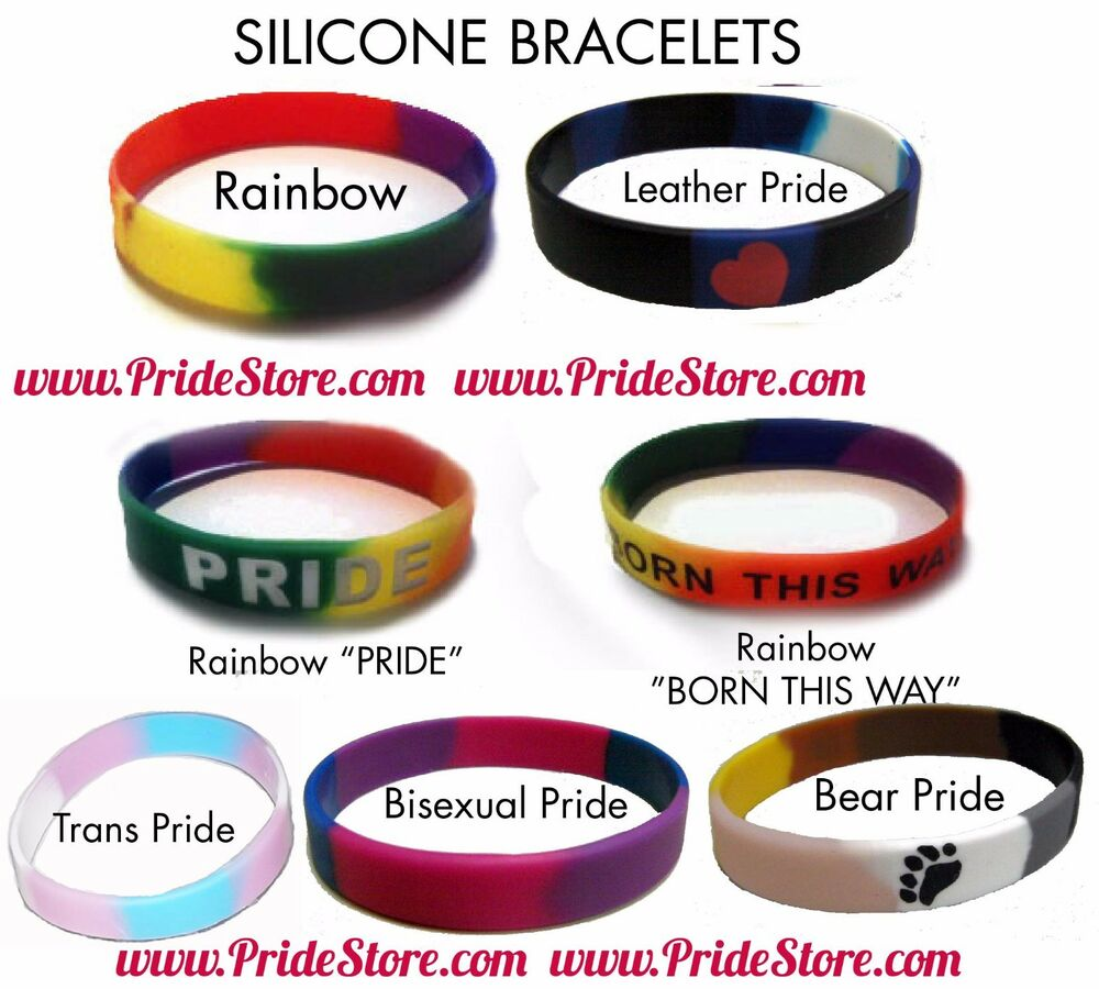 from Skyler gay pride wrist bands