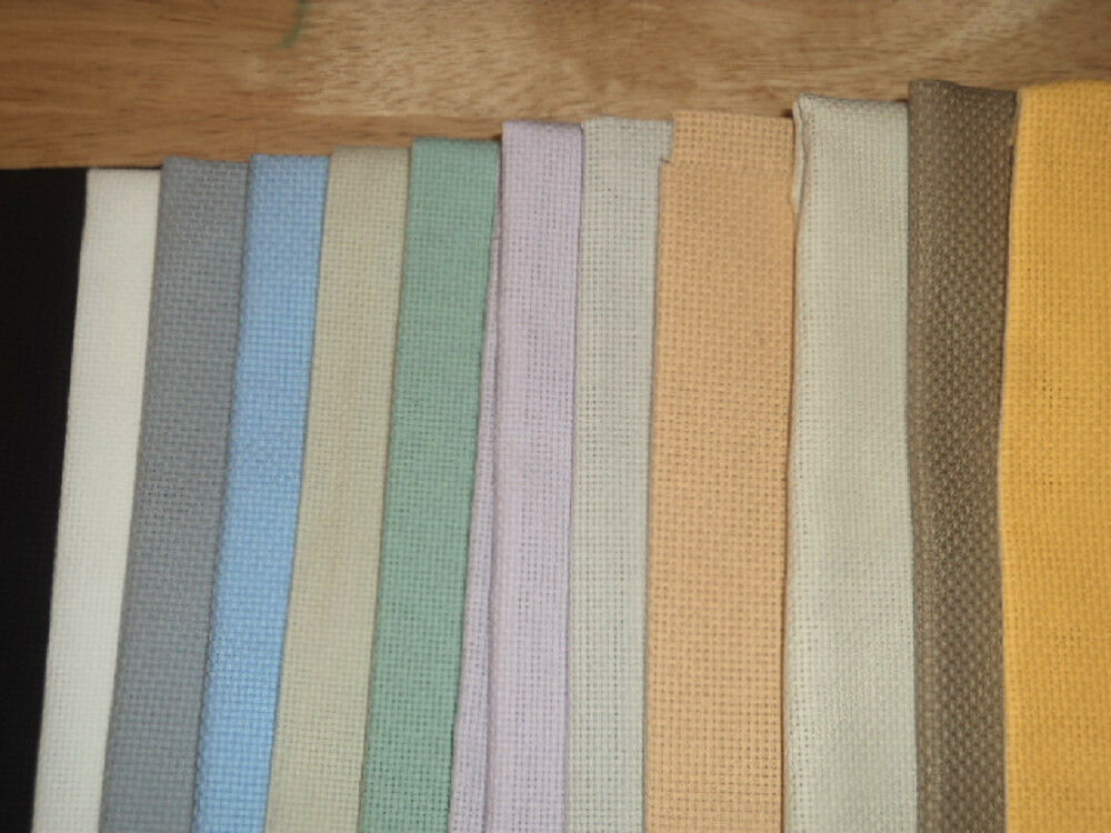 Wichelt aida fabric for cross stitch 14 or 16 count you choose color