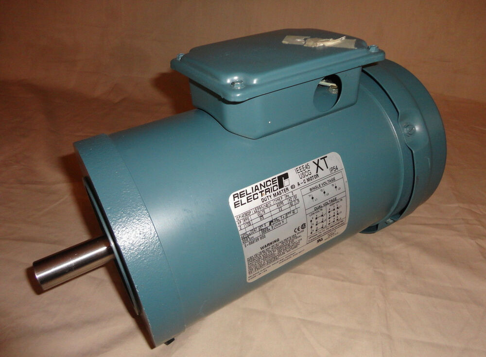 Reliance p14x3833p electric motor 2 hp 1725 rpm 575 volt for Abc electric motor repair