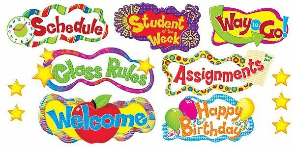 Classroom Window Ideas ~ Headline headers notice board classroom display banner set