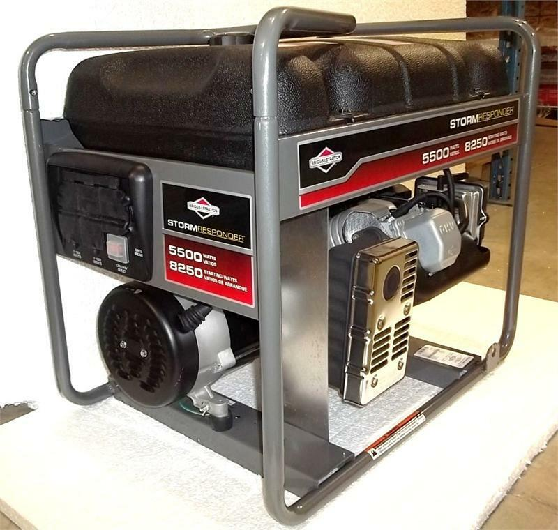 Briggs And stratton Generator manual 5500 Watts
