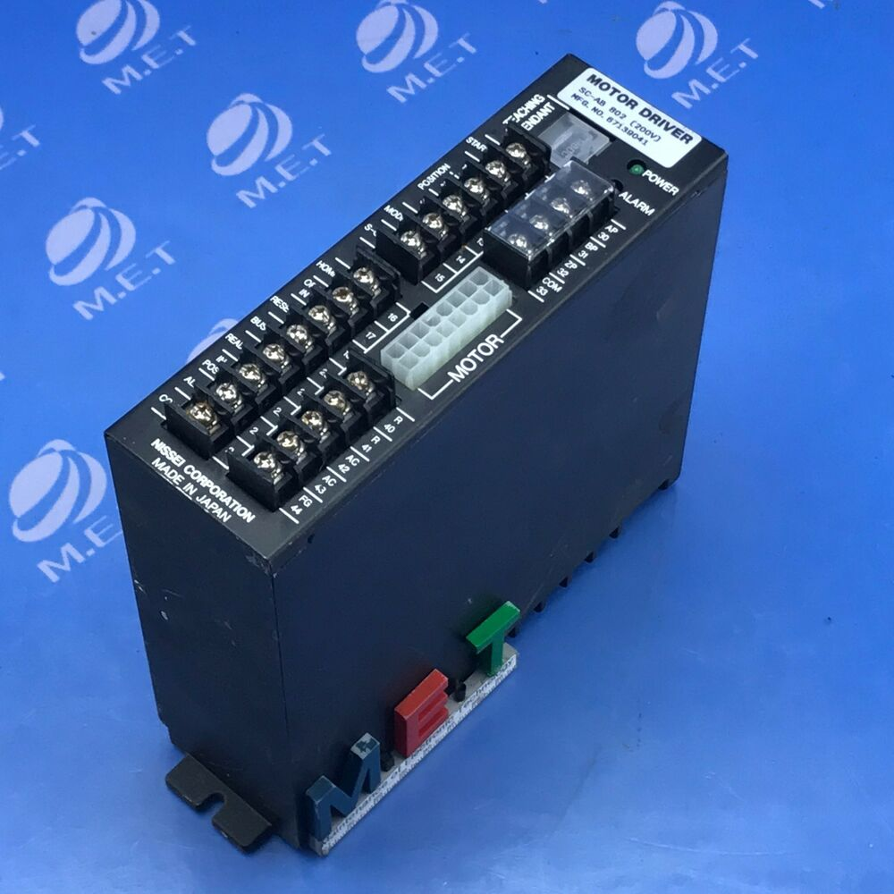 Nissei motor driver sc ab 802 expedited shipping ebay for Motor cargo freight company